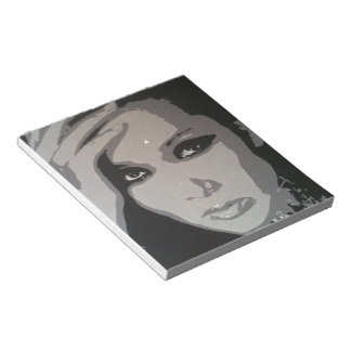 Zhang Mi (Mimi) original pop art portrait Notepad