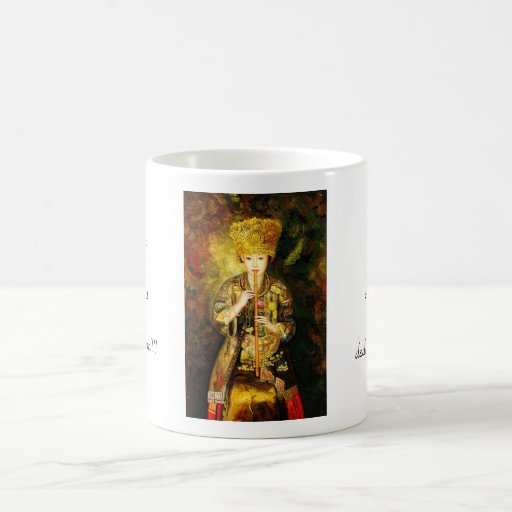 Zhangbo Hmong Culture Girl is Piping chinese lady Mug