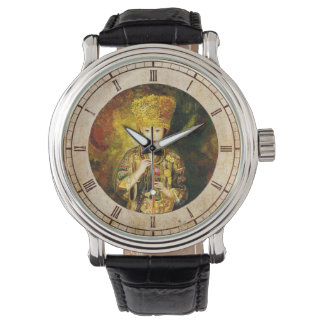 Zhangbo Hmong Culture Girl is Piping chinese lady Wristwatch