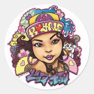 Zia Royale Custom Design Sticker