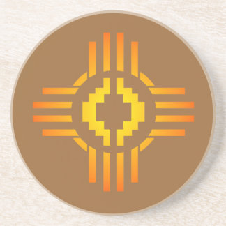 Zia Sun Sign Coaster