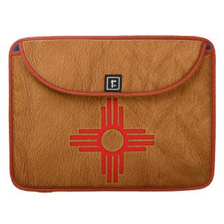 Zia Sun Symbol Sleeve For MacBook Pro