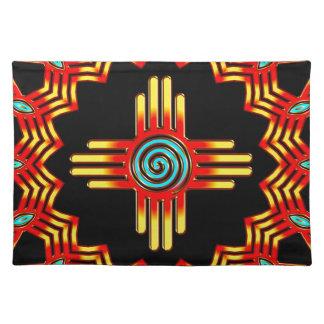 Zia sun - Zia Pueblo - New Mexico Placemat