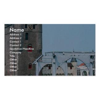 Zierikzee, Zeeland, Netherlands Business Card Templates