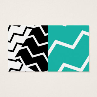 Zig and Zag Mint Business Card