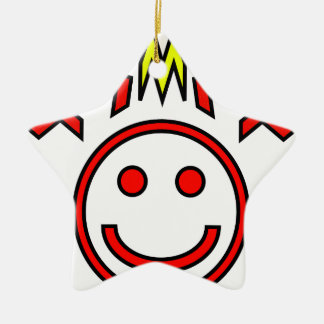 Zig Face Christmas Ornament