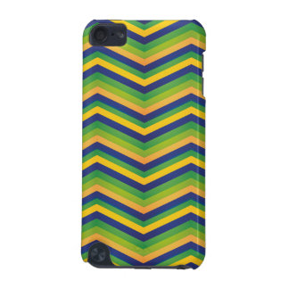 Zig Zag Brazil Design iPod Touch (5th Generation) Case