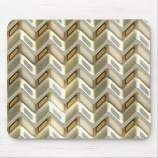 Zig Zag Shimmer Mouse Pad