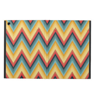 Zig Zag Striped Background 2 iPad Air Cases