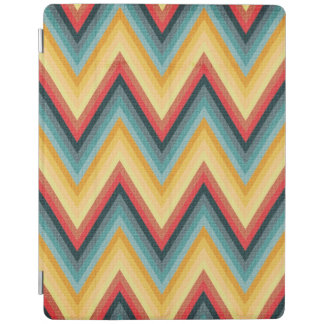 Zig Zag Striped Background 2 iPad Cover