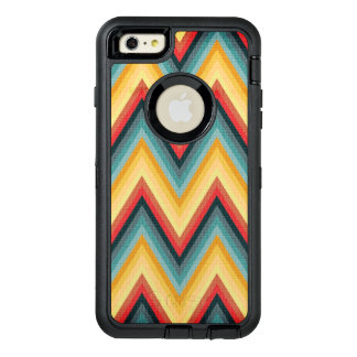 Zig Zag Striped Background 2 OtterBox Defender iPhone Case