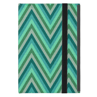 Zig Zag Striped Background iPad Mini Case