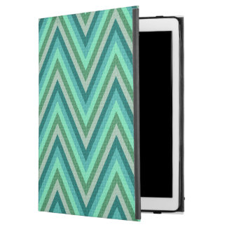 "Zig Zag Striped Background iPad Pro 12.9"" Case"