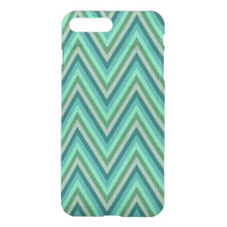 Zig Zag Striped Background iPhone 8 Plus/7 Plus Case