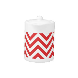 Zig Zag Striped Red White Pattern Qpc Template