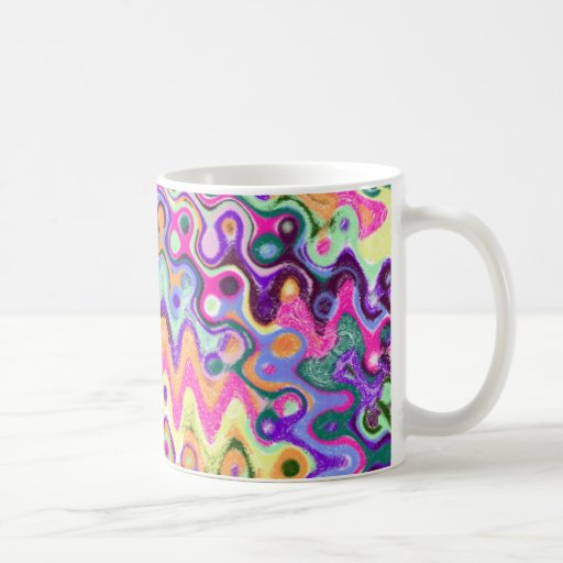 Zig-Zag Wave Mug