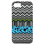 Zig-Zags Stripes & Dots iPhone 5 Covers
