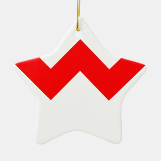 ZigZag Christmas Ornament