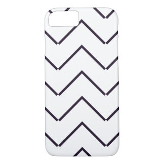 Zigzag geometric line Halloween iPhone 7 Case