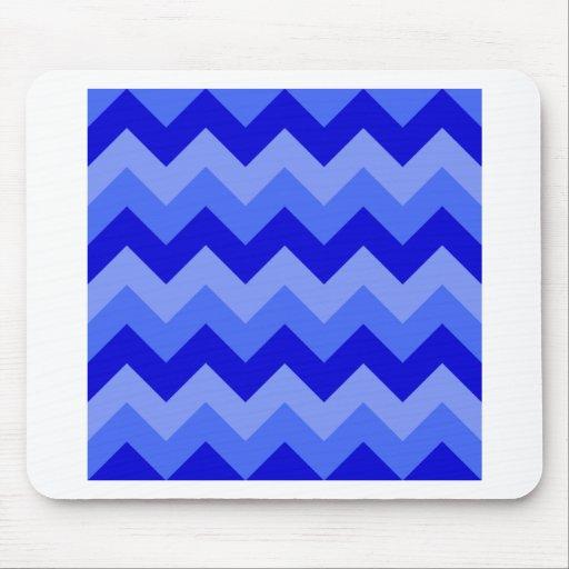 Zigzag I - Blue 2 Mousepad
