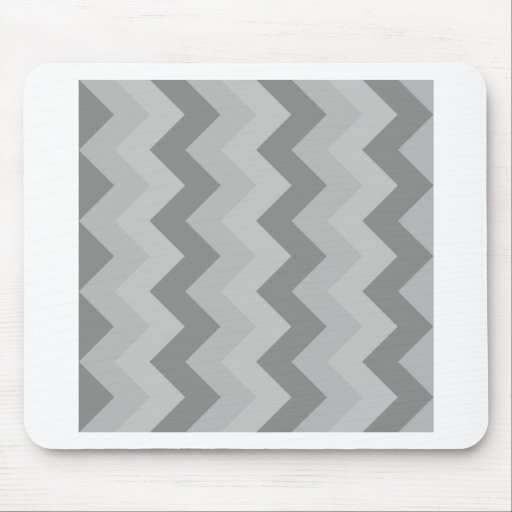 Zigzag I - Gray 1 Mousepad