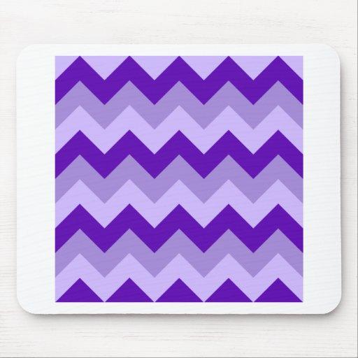 Zigzag I - Violet 2 Mouse Pad