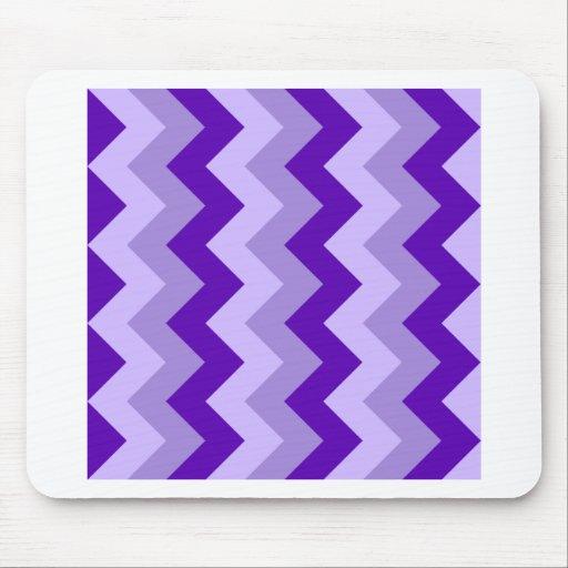Zigzag I - Violet 2 Mouse Pads