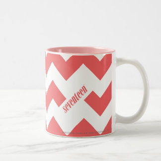 ZigZag LtPink Two-Tone Coffee Mug