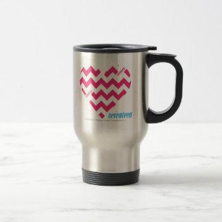 ZigZag Magenta 3 Travel Mug