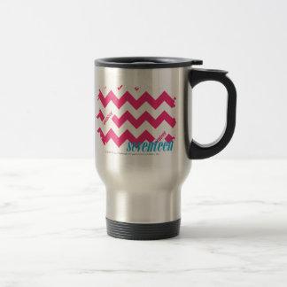 ZigZag Magenta 4 Travel Mug