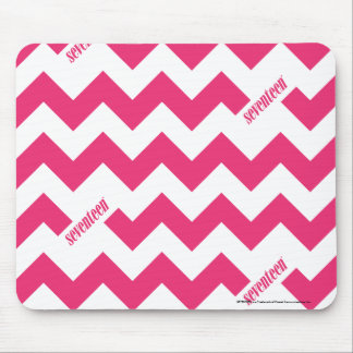 ZigZag Magenta Mouse Pad