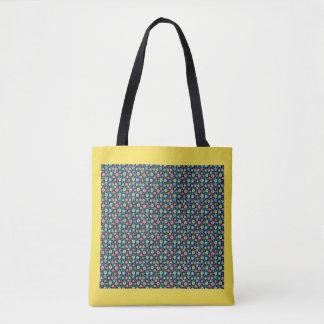 Zigzag Multicolor Tote Bag