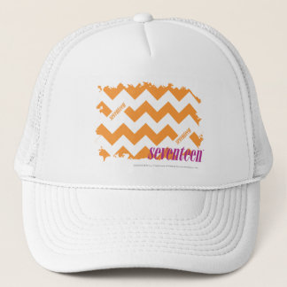 ZigZag Orange 4 Trucker Hat
