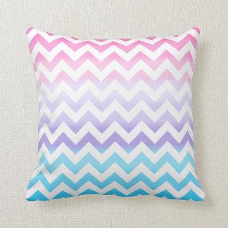 Zigzag Pastel Ombre Cushion