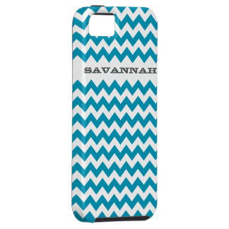 Zigzag Pattern Any Color  Personalized iPhone 5 iPhone 5 Case