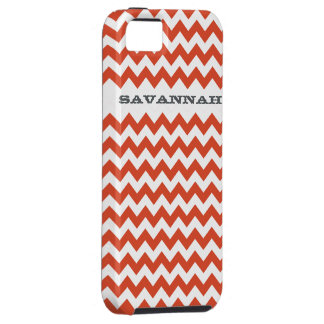 Zigzag Pattern Any Color  Personalized iPhone 5 iPhone 5 Cover