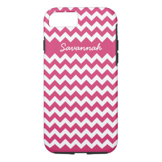 Zigzag Pattern Any Color  Personalized iPhone iPhone 7 Case