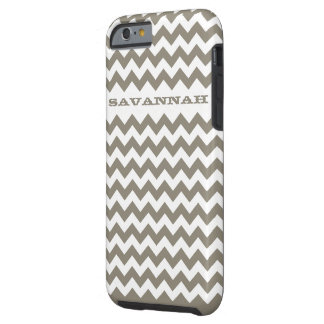 Zigzag Pattern Any Color Personalized iPhone Tough iPhone 6 Case