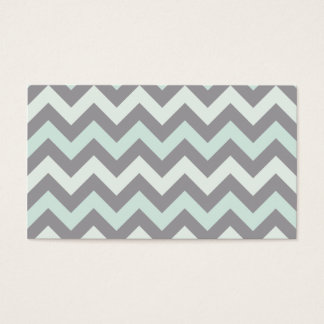 Zigzag pattern business card