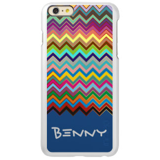 ZIGZAG pattern - colored + your name