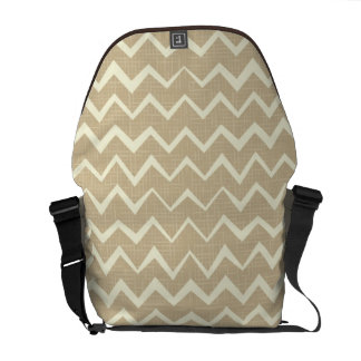 Zigzag pattern courier bags