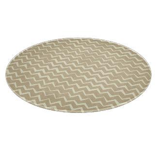 Zigzag pattern cutting board