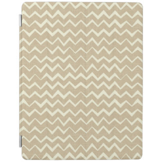 Zigzag pattern iPad cover