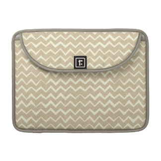 Zigzag pattern sleeve for MacBooks