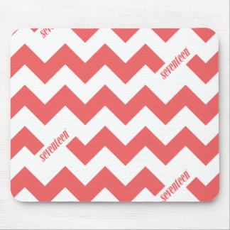ZigZag Pink Mouse Pad