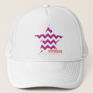 ZigZag Purple 4 Trucker Hat