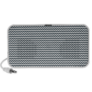 Zigzag - White and Charcoal Speaker System