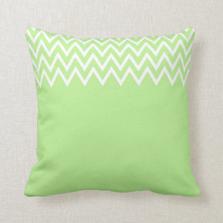 Zigzag Yellow And Green Pillow
