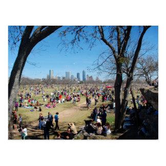 Zilker Park Kite Festival 2 - Austin Texas Postcard