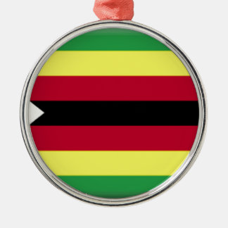 Zimbabwe Flag Christmas Ornament